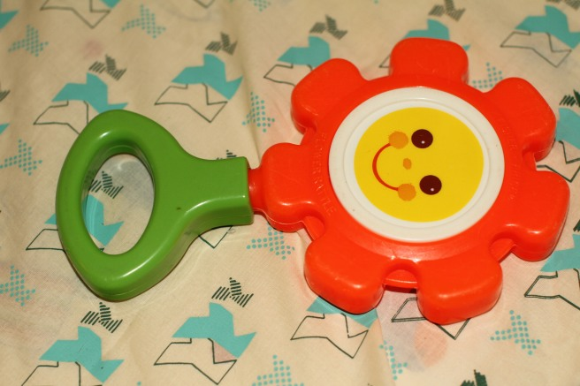 Hochet Fisher Price vintage