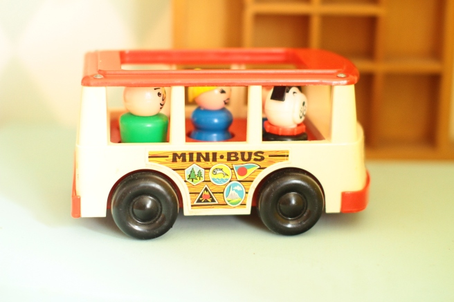 Minibus Fisher Price Little People canon 7d 50 mm 1.4